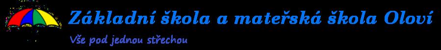 Základní škola a mateřská škola Oloví